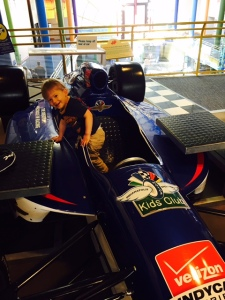 Future racecar driver