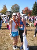 Sisters after The Indianapolis Marathon 2010