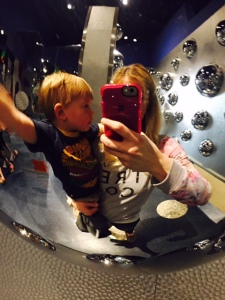 Mommy and Max at the museum!