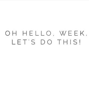 hello week