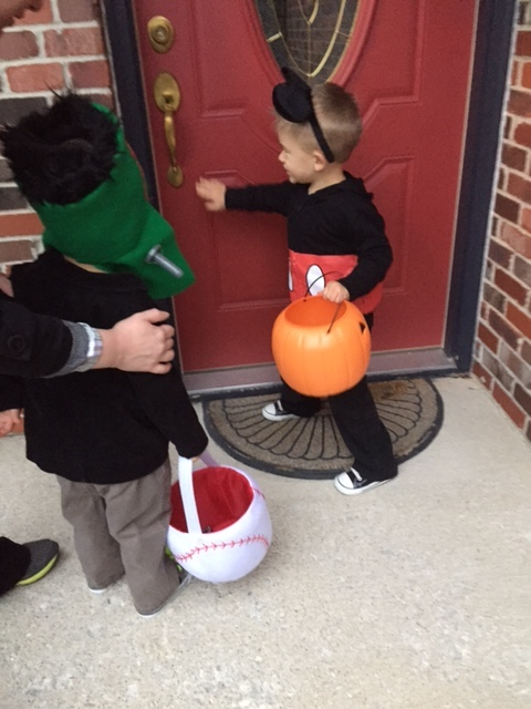 Trick-or-treat pros